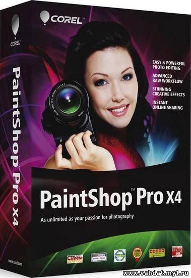 Corel PaintShop Photo Pro X4 Retail 14.2.0.1 RePack by MKN