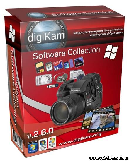 digiKam Software Collection 2.6.0 ML/Rus