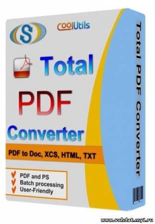 Coolutils Total PDF Converter 2.1.210 (2012) Final