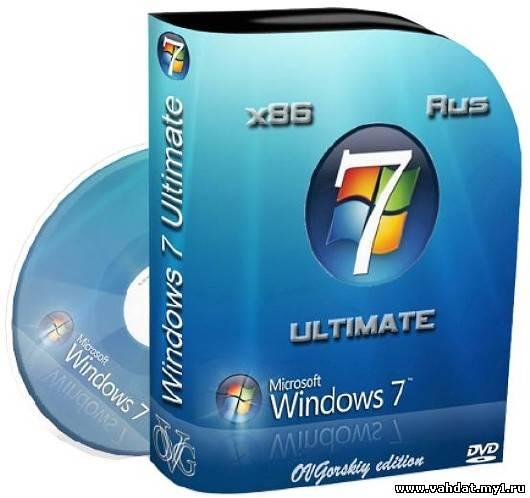 Microsoft Windows 7 Ultimate Ru x86 SP1 NL2 by OVGorskiy® 10.2012