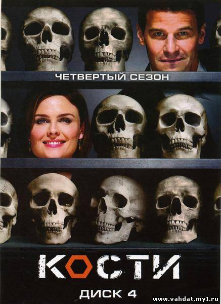 Сериал Кости - Bones 4 сезон (2008-2009) На Русском