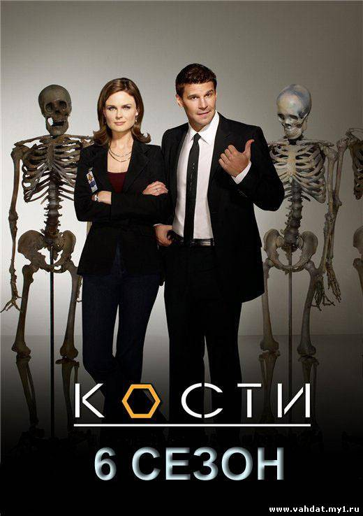 Сериал Кости - Bones 6 сезон (2010-2011) На Русском